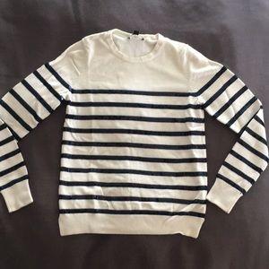 Ann Taylor Sailor-Sequin Sweater